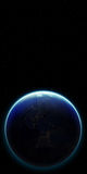 tierra del planeta 3D Elementos de esta imagen equipados por la NASA otro Imagenes de archivo