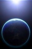 tierra del planeta 3D Elementos de esta imagen equipados por la NASA otro Fotografía de archivo