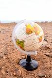 Tierra del planeta del globo Foto de archivo