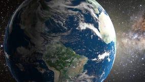 Tierra del planeta en espacio libre illustration