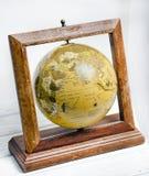 Tierra del planeta, mapas del globo del mundo Foto de archivo libre de regalías