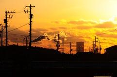 Tierra del sol naciente Nihon Fotos de archivo