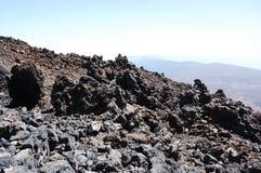 Tierra del volcán Imagenes de archivo