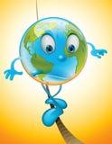 Tierra en equilibrio ilustración del vector