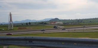Tierra hermosa en la capital federal Nigeria fotos de archivo