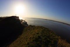 Tierra, mar y cielo Fotografía de archivo libre de regalías