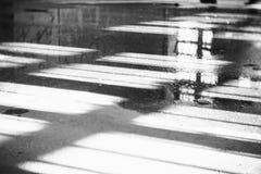 Tierra mojada en el edificio Imagenes de archivo
