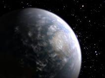 Tierra nublada Foto de archivo libre de regalías
