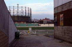 Tierra oval del grillo, Londres Imagen de archivo libre de regalías