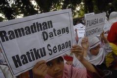 TIERRA PERDIDOSA DE INDONESIA EN LA EDUCACIÓN Imagen de archivo libre de regalías