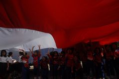 TIERRA PERDIDOSA DE INDONESIA EN LA EDUCACIÓN Fotos de archivo libres de regalías