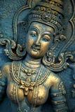 tierra phangan de dioses de la incisión de Tailandia del kho en verde foto de archivo libre de regalías