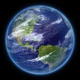 Tierra realista del planeta de la foto aislada - png ilustración del vector