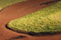 Tierra roja Imagenes de archivo