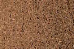 Tierra rosa - suelo rojo Imagen de archivo libre de regalías