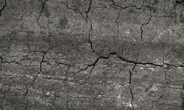 Tierra seca en grietas Fotografía de archivo libre de regalías