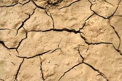 Tierra secada fotografía de archivo