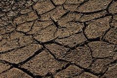 Tierra secada Fotografía de archivo libre de regalías