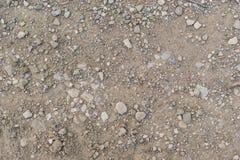 Tierra secada con las piedras Fotos de archivo
