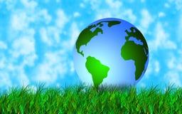 Tierra verde Fotos de archivo