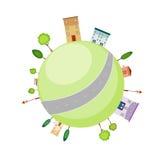 Tierra verde Imagen de archivo libre de regalías