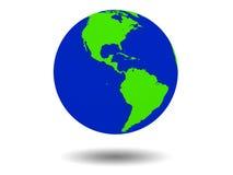 Tierra verde Imagen de archivo