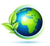 Tierra verde ilustración del vector
