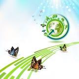 Tierra verde Fotografía de archivo