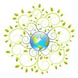 Tierra verde libre illustration