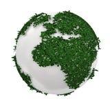 Tierra verde Foto de archivo libre de regalías
