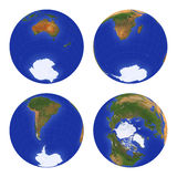 Tierra View#3 Imagen de archivo