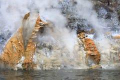 Tierra viva en Nueva Zelandia Imagenes de archivo