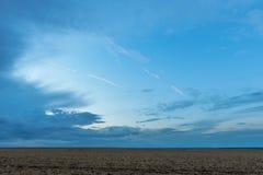 Tierra y cielo Imagen de archivo libre de regalías