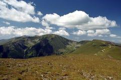 Tierra y nubes Fotos de archivo libres de regalías