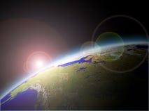 Tierra y sol Fotografía de archivo libre de regalías
