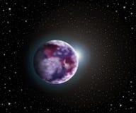 Tierra y Sun Foto de archivo libre de regalías