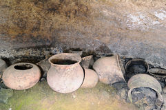 Tierradentro ancient tomb,Colombia, Royalty Free Stock Image