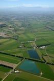 Tierras de labrantío de Cantorbery Foto de archivo