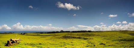 Tierras de labrantío de Hawaii Imagen de archivo libre de regalías