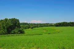 Tierras de labrantío de Pennsylvania Foto de archivo libre de regalías
