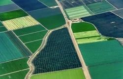Tierras de labrantío en California septentrional imagen de archivo