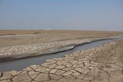Tierras secas Foto de archivo libre de regalías