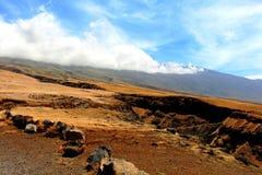 Tierras secas en Maui Imágenes de archivo libres de regalías