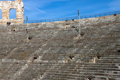Tiers Arena of Verona Royalty Free Stock Photo
