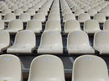 Tiers in a stadium Stock Image