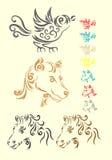 Tiersatz Stock Abbildung