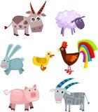 Tierset Lizenzfreies Stockfoto