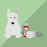 Tiershopdesign Lizenzfreies Stockfoto
