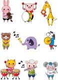 Tierspielmusik Lizenzfreies Stockfoto