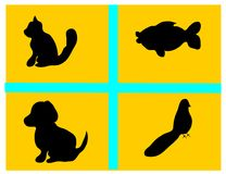 Tiervektor Lizenzfreies Stockbild